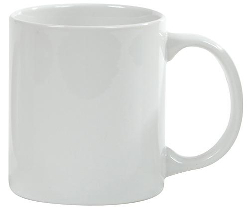 纯白手绘马克杯
